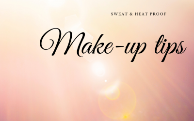 Sweat & Heat proof make-up tips